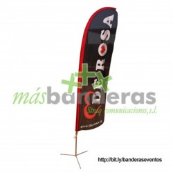Fly Banner Tipo Surf 360