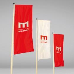 Bandera 70x200 cms....